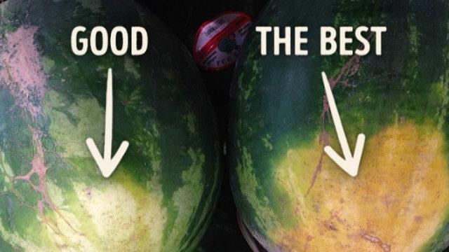 5 trucchi per scegliere l'anguria migliore