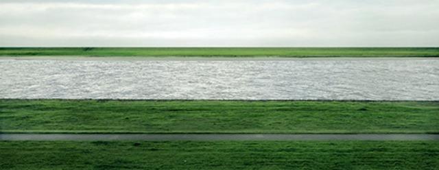 Rhein II - Fotografia di Andreas Gursky