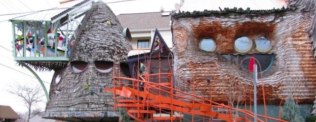 La casa a forma di fungo