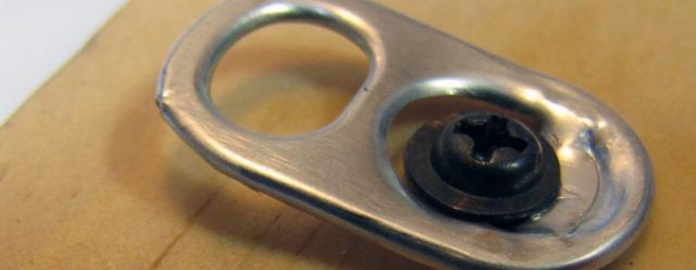 Linguetta della lattina per appendere un quadro