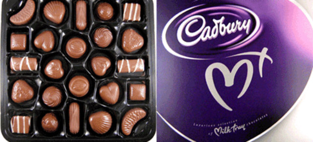 The first box of chocolates is dated 1868