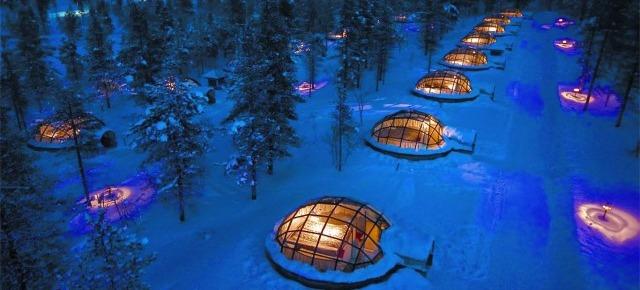 Kakslauttanen - villaggio degli igloo