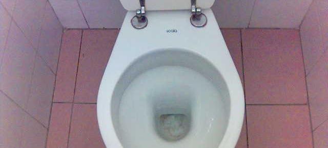 Intasare il WC altrui