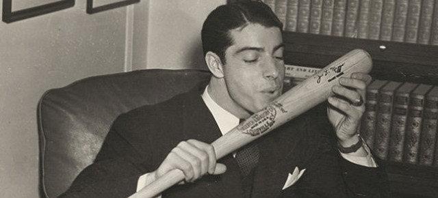 Joe di Maggio e la sua fortunata mazza da baseball