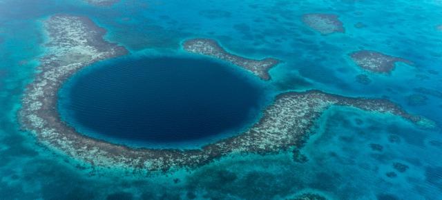 Grande buco blu - Belize