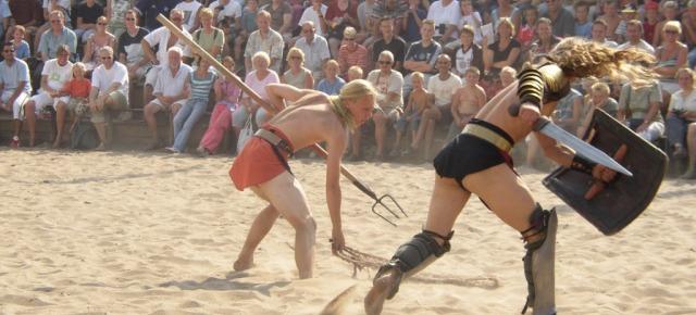 Bere il sangue dei gladiatori