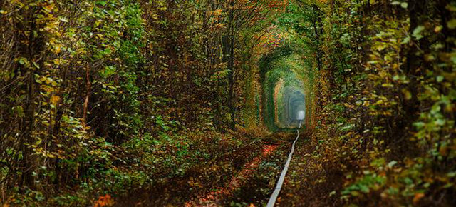 Tunnel dell'amore, Ucraina