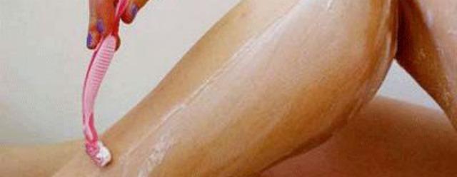 Non depilarsi le gambe
