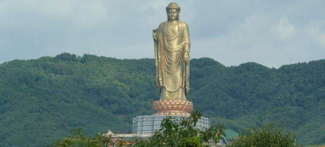 Buddha Zhōngyuán, Cina