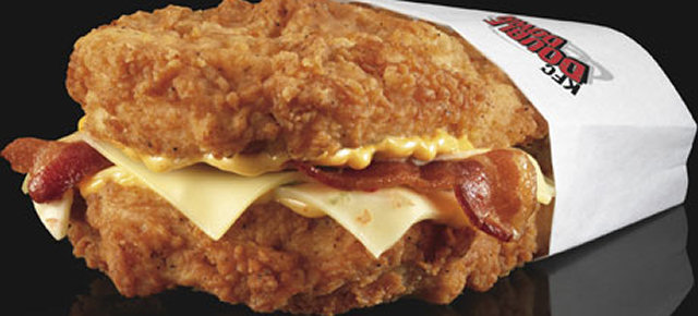 Chicken Burger di KFC