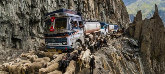Le cinque strade più pericolose al mondo