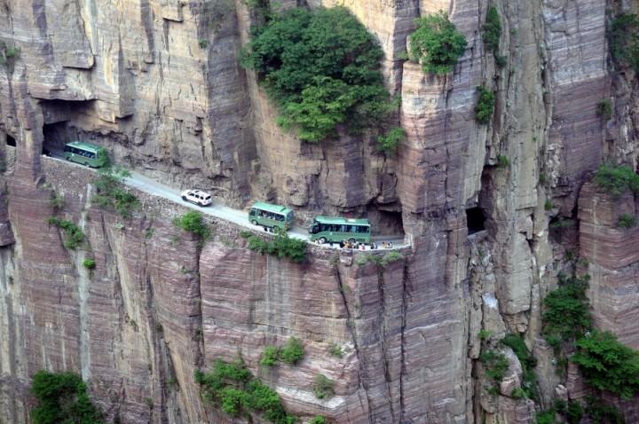 Guoliang Tunnel, Cina