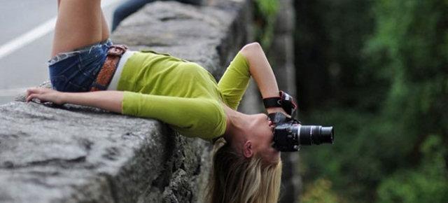 Fotografare paesaggi in posizioni estreme