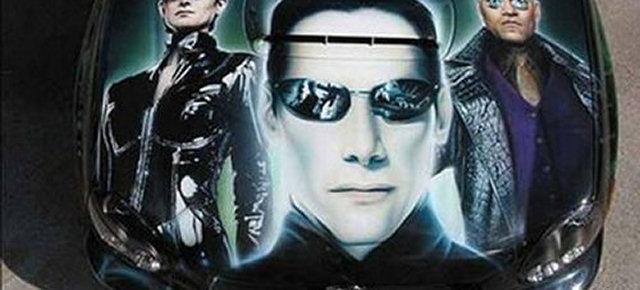 Auto omaggio a Matrix