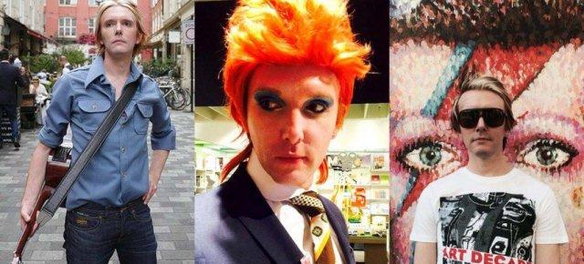 Professore vive un anno come David Bowie