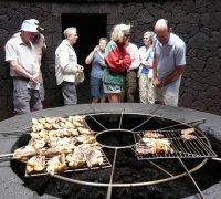 Cucinare con la lava