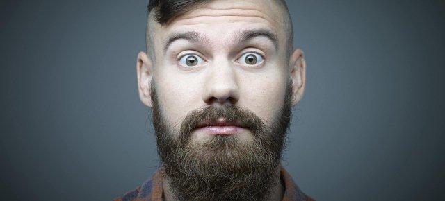 La barba contiene più feci di un water