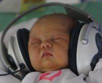 Mozart in cuffia ai neonati