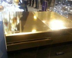 Arriva la Xbox One placcata in oro