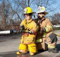 Il pompiere più basso al mondo