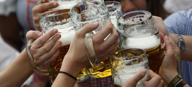 Bicchieri di alcolici più facili da sollevare