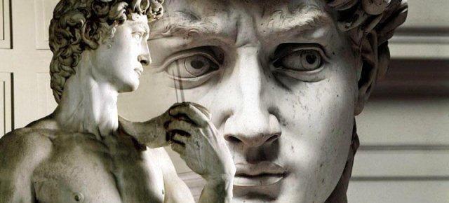 Vuole diventare il David di Michelangelo