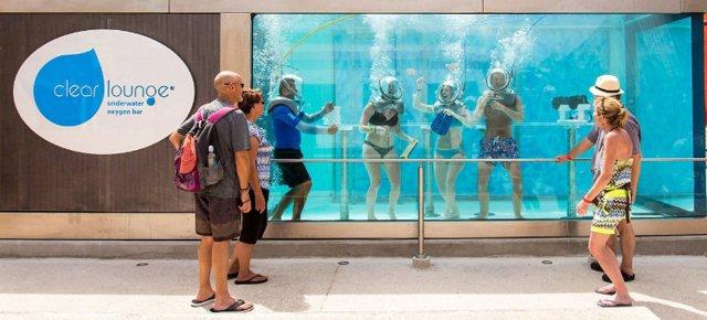 In Messico arriva il primo bar subacqueo