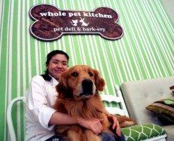 Il ristorante col menù per uomini e per cani