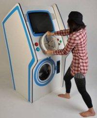 Arriva la lavatrice videogame