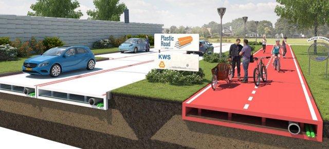 Le strade del futuro? Saranno di plastica