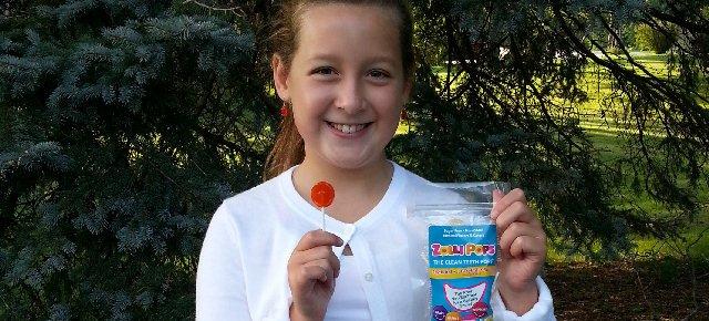 Inventa lecca lecca salutari a 9 anni