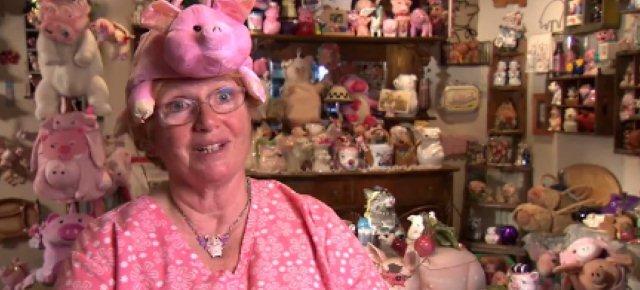 La donna ossessionata dai maiali