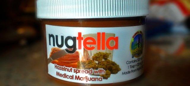 Nugtella, la crema di nocciole e marijuana