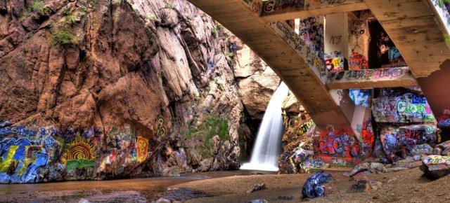 Quando l'arte di strada incontra la natura