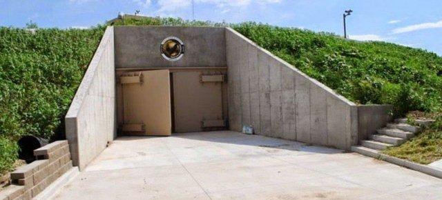 Appartamenti di lusso dentro il bunker