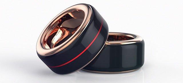 L'anello che fa sentire il battito del cuore di chi amate
