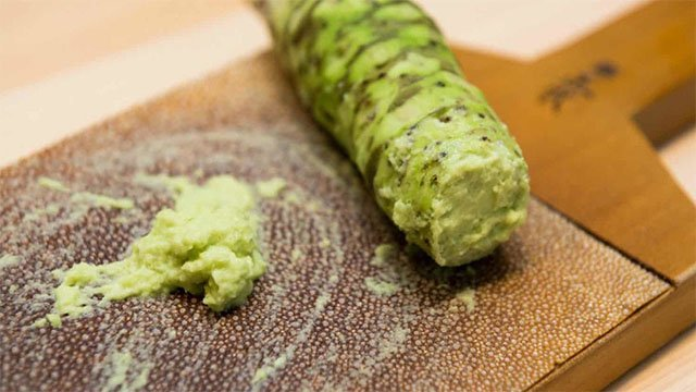 Il vero wasabi? Costa 300 euro al kg