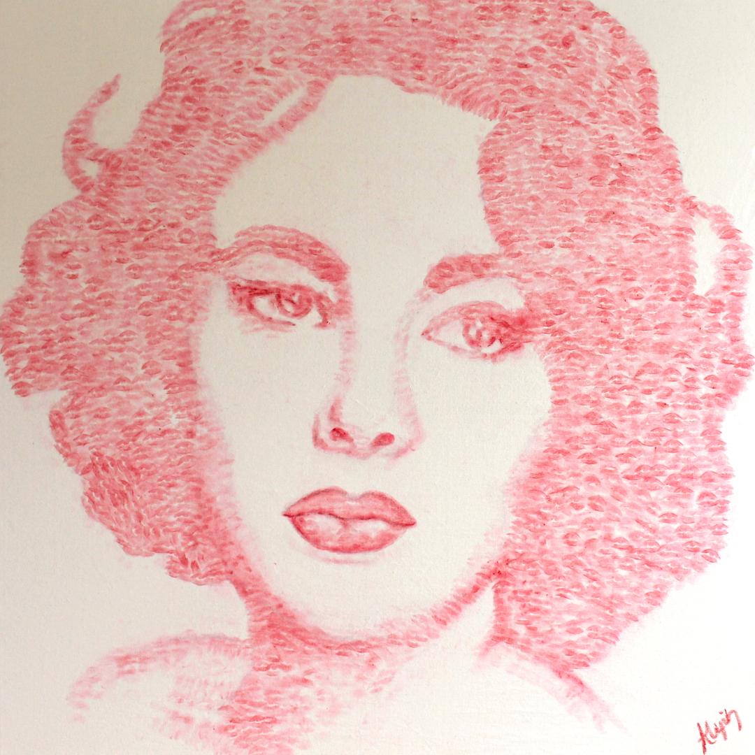 Gli incredibili dipinti fatti di... baci 2