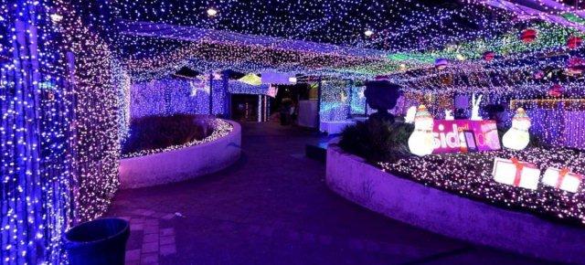 La casa con più luci di Natale al mondo