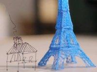 La penna che scrive in 3D