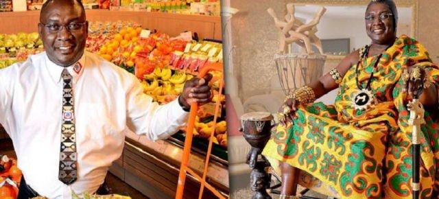 E' re in Ghana ma fa il fruttivendolo
