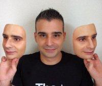 Maschere 3D del proprio volto