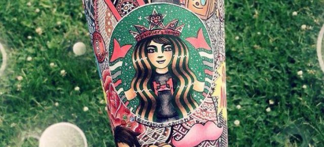 Rende bicchieri di Starbucks dei capolavori