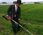 Il contadino più elegante al mondo