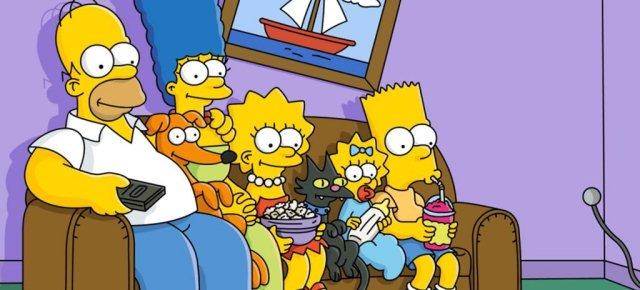 Simpsons sfottono il Parlamento Italiano