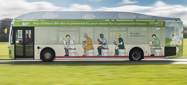 In Inghilterra il primo bus che va a feci