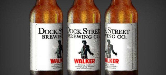 Ecco la birra-zombie, con vero cervello