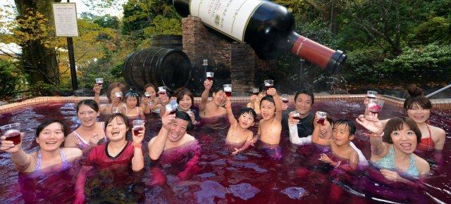 Una spa ad alto tasso alcolico