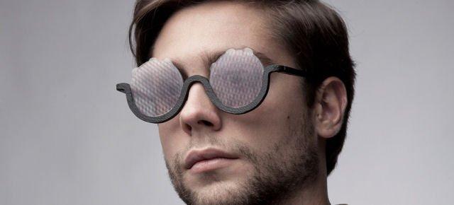 Gli occhiali che fanno venire le allucinazioni