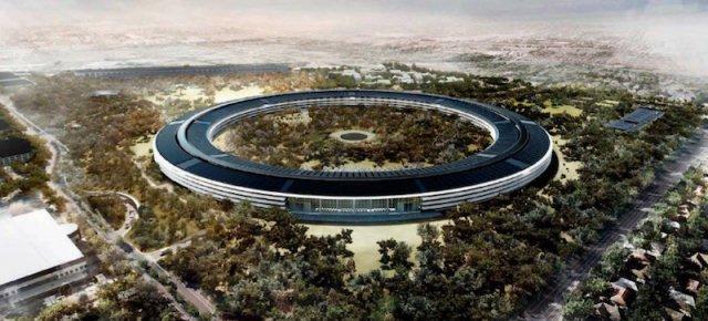 La nuova incredibile sede della Apple